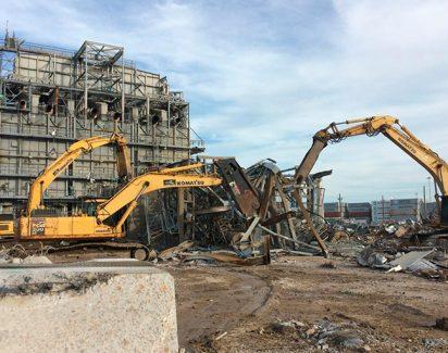 Демонтаж заводов и складов