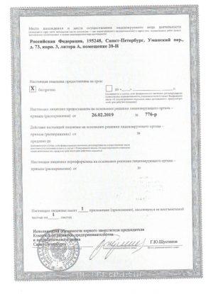 Лицензии лом 5