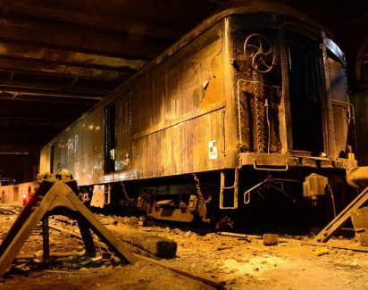 Демонтаж поездов и вагонов